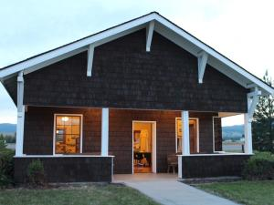 Our bungalow ranger station cabin, which is now located on the future site of the National Museum of Forest Service History.