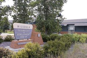 The Missoula Technology and Development Center on the Forest Service campus, adjacent to the Missoula International Airport. The campus includes the Fire Sciences Laboratory, Aerial Fire Depot and Smokejumper Center. (Scott Hawk)